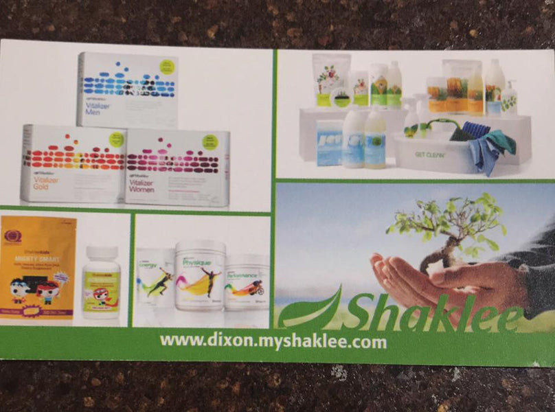 Shaklee Demonstration Day set for this Saturday!