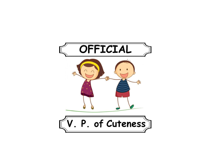V. P. of Cuteness Special going on this week...