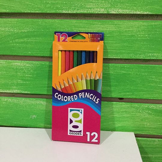 Geddes 12-pack Colored Pencils