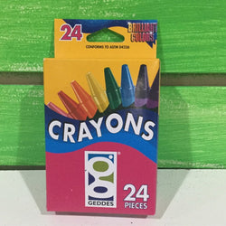 Geddes 24-pack Crayons - Next Stop Kids Shop