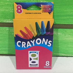 Geddes 8-Pack Crayons - Next Stop Kids Shop