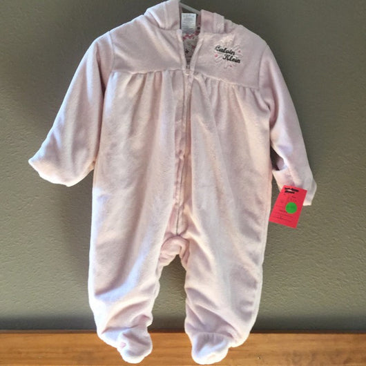 Calvin Klein Baby Outerwear Girl Outfit - Next Stop Kids Shop