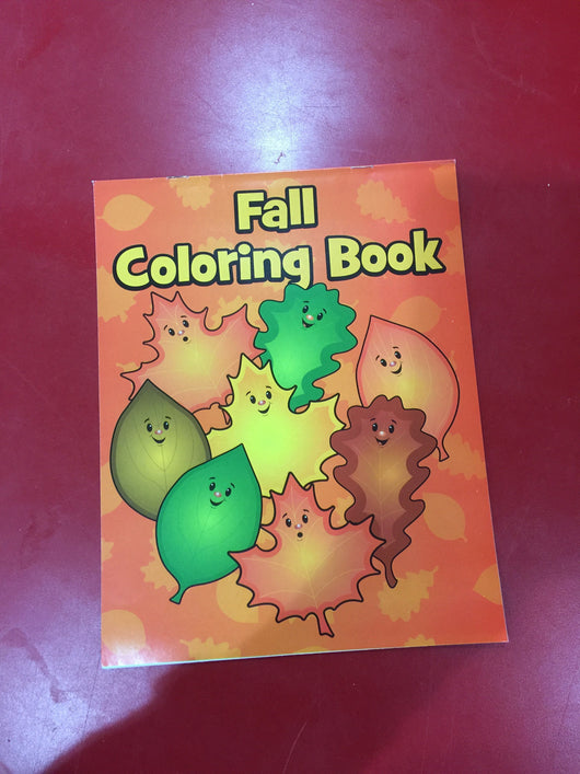 Fall Coloring Book - Next Stop Kids Shop