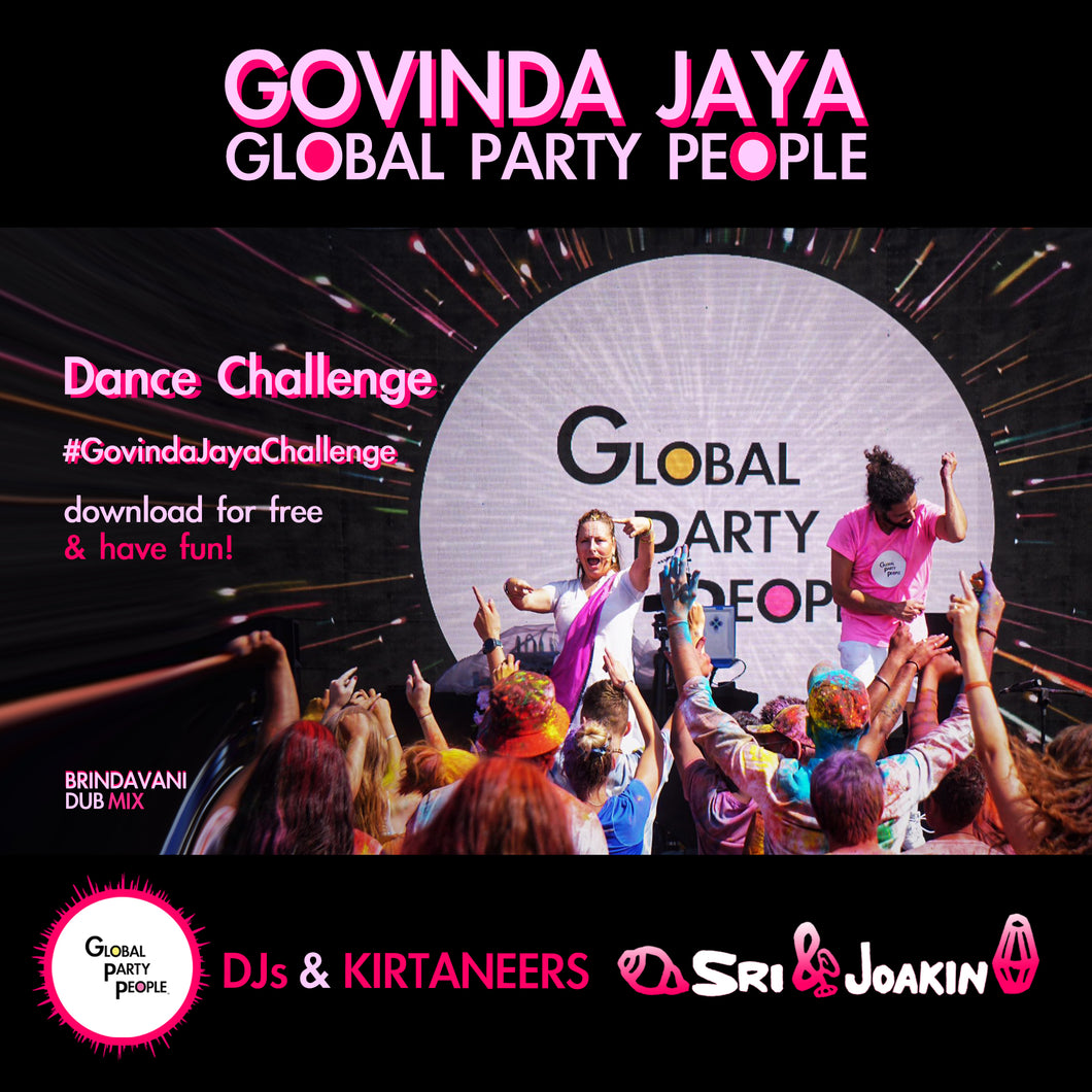 Govinda Jaya Dance Challenge! download for free with discount code: GovindaJayaChallenge
