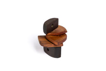 Abstract sculpture by Robert Baća, mobile made of wood.