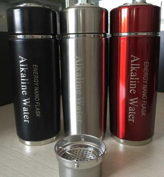 Stainless Steel Alkaline Flask