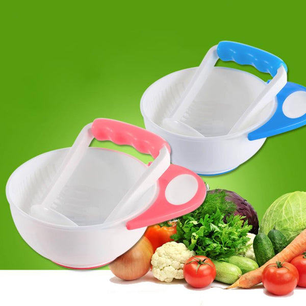 Baby Fruit and Vegetables Mashing Bowl