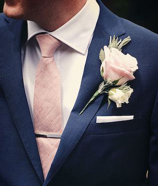 Custom wedding pocket squares
