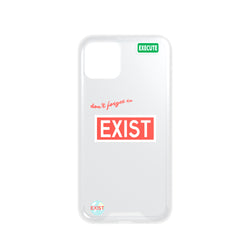 EXIST iPhone Case - Red