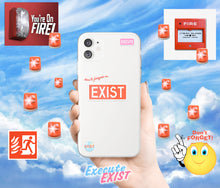 Load image into Gallery viewer, EXIST iPhone Case - Red