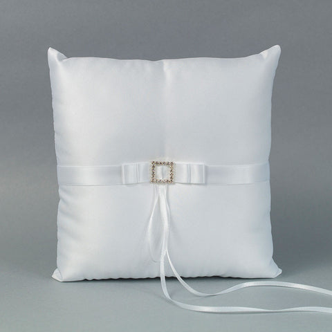Rhinestone Buckle Ring Pillow - Annie's showroom