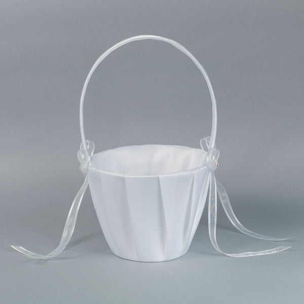 Flower Girl's Basket with Diamond accent - Annie's showroom