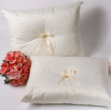 A set of Wedding Kneeling Pillow : Rhinestone - Annie's showroom