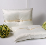 A set of Wedding Kneeling Pillow : Rhinestone Buckle - Annie's showroom