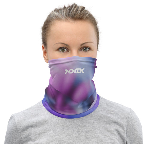 Smooth Violets Neck Gaiter