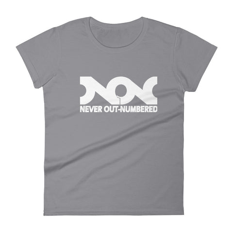.NEVER OUT NUMBERED - WHITE