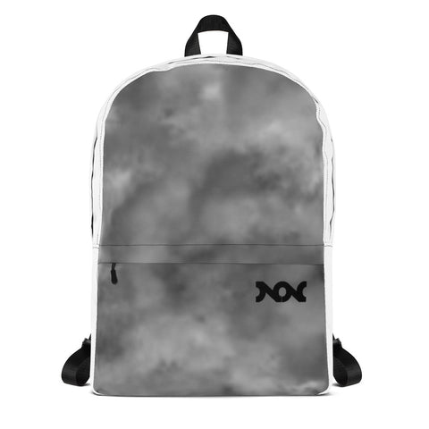 NON BACKPACK - BLACK/GREY FLUFF mini logo