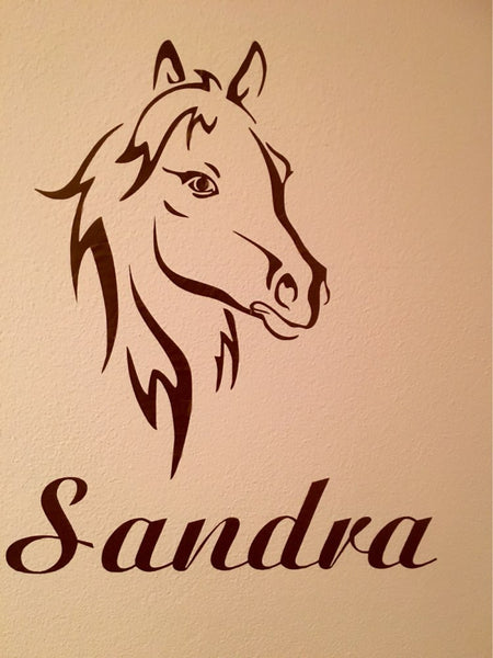 Customized Horse Wall Sticker