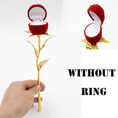 Flower Ring Holder