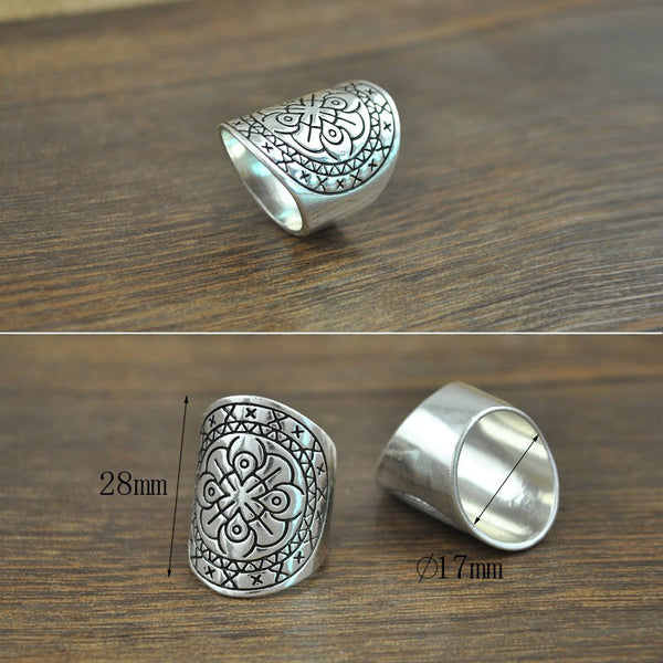 4PCS/Set New Bohemia Vintage Ring Set