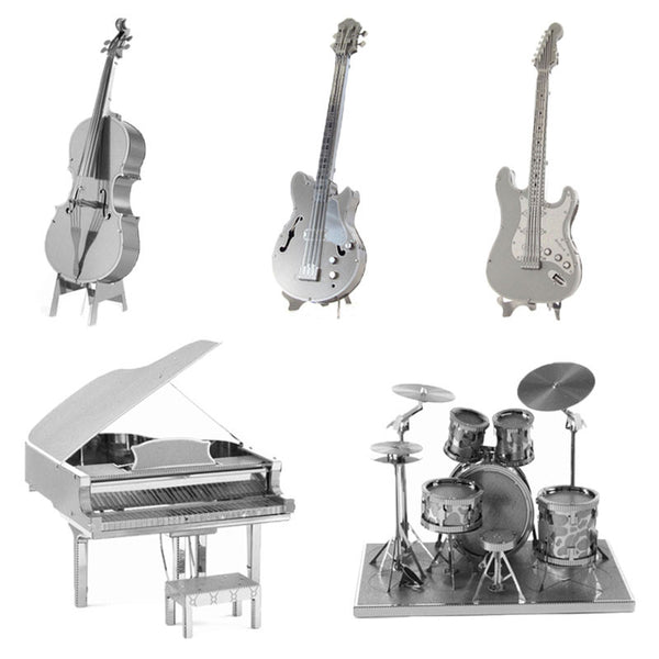 DIY 3D Metal music instruments Models