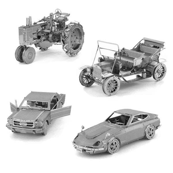 DIY 3D Metal vehicles Models