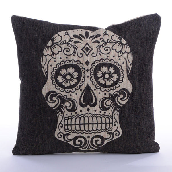Skull Pillowcase
