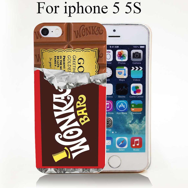Willy Wonka Bar With Golden Ticket Iphone case