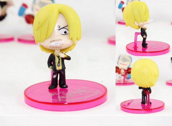Cute small actions figure of the mugiwaras (+hankook)