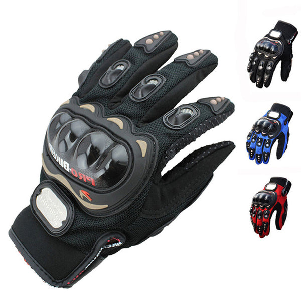 Biker's protection gloves