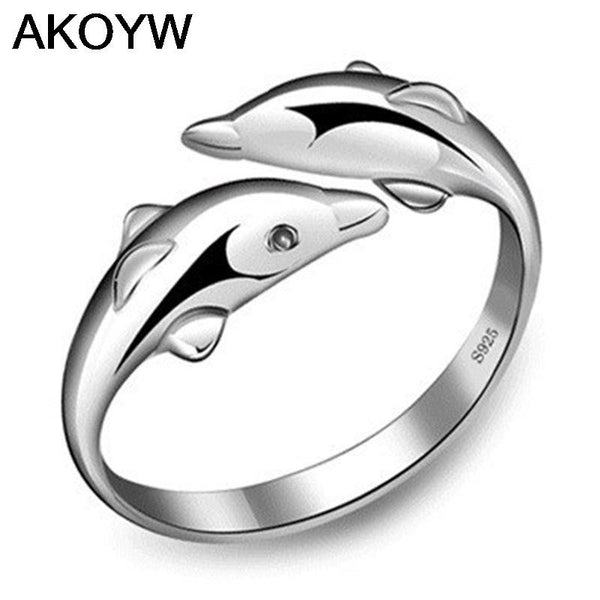 Save Dolphins Ring