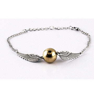 Golden Snitch bracelet for Harry Potter fans