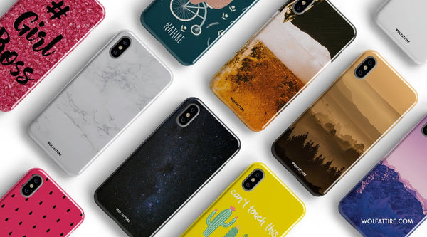 10 Best designer iPhone X covers & Cases from Wolfattire