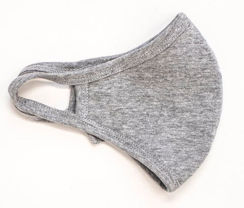 Grey face mask