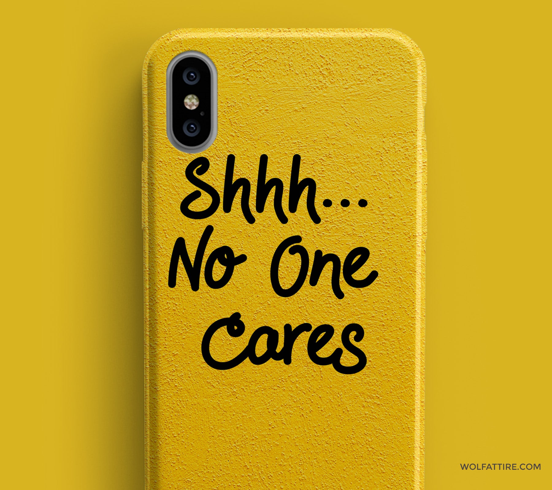 76c0ddbcb6d shhh no one cares iphone x covers and cases online india - wolfattire
