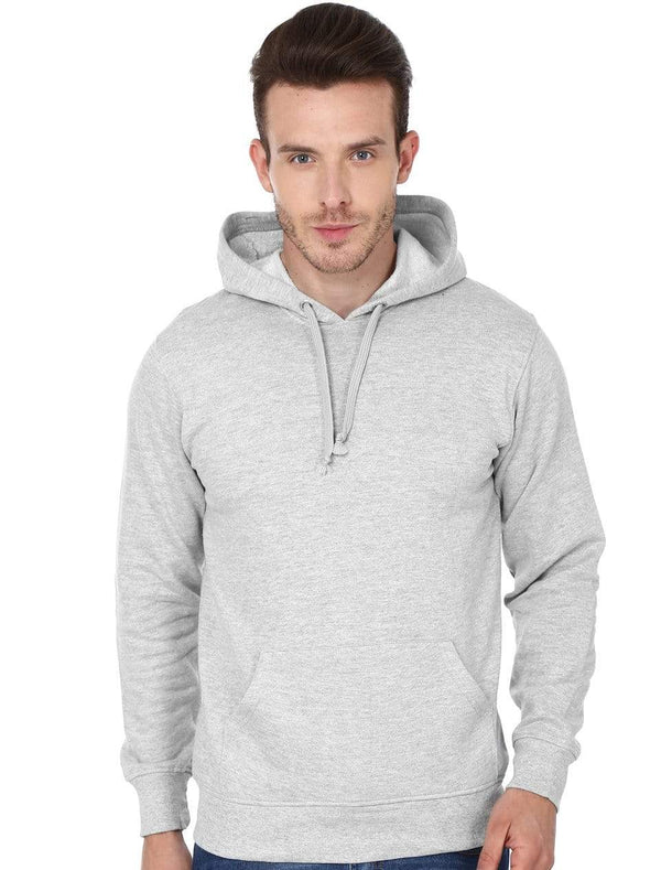 Hooded Sweatshirt Men's Regular Fit Hooded Sweatshirt - Grey wolfattire