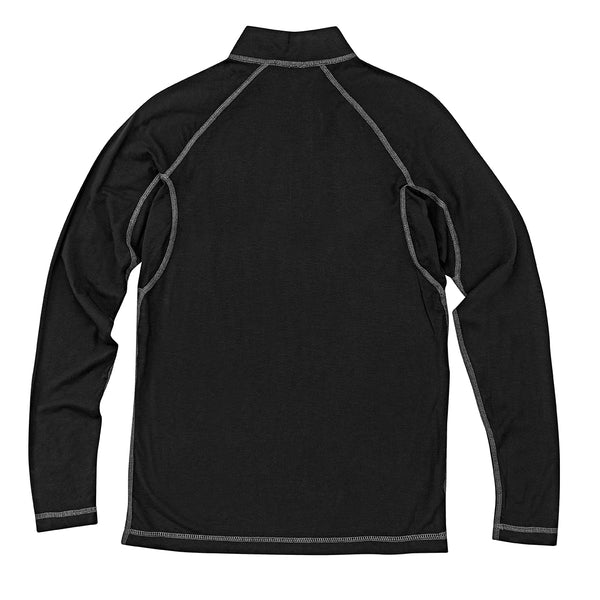 H&F Bamboo/Merino Wool 1/4 Zip Base Layer Top