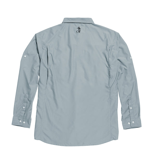 H&F High Performance Button Down (Feather Grey)