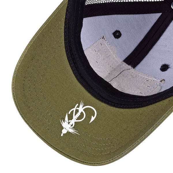 H&F Olive / Black Trucker Hat