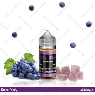 Salty Man Vapor Ejuice - Purple Reign - vaporclub