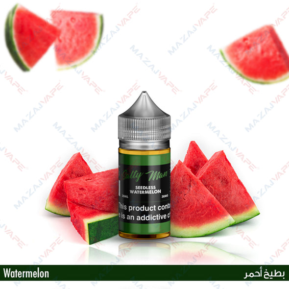Salty Man Vapor Ejuice - Seedless Watermelon - vaporclub
