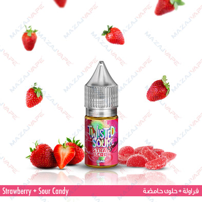 Twisted Sour Ejuice Salt - Strawberry Salt - vaporclub