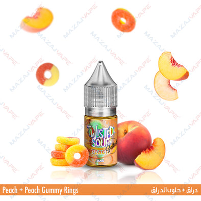 Twisted Sour Ejuice Salt - Peach Salt - vaporclub
