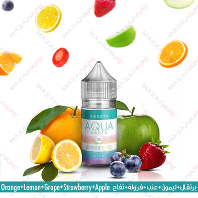 Aqua Ejuice Salts - Rainbow Drops - vaporclub
