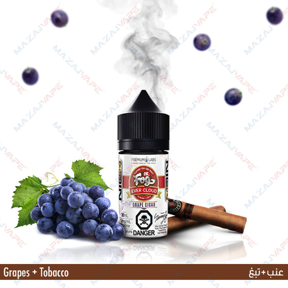 Evercloud Ejuice Salts - Grape Cigar - vaporclub