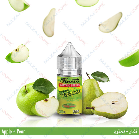 Finest Saltnic Series - Apple Pearadise - vaporclub