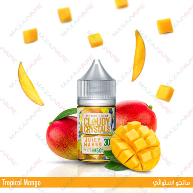 Cloudy Crystals - Juicy Mango - vaporclub