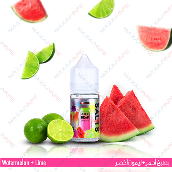 Juice Head Salts - Watermelon Lime - vaporclub