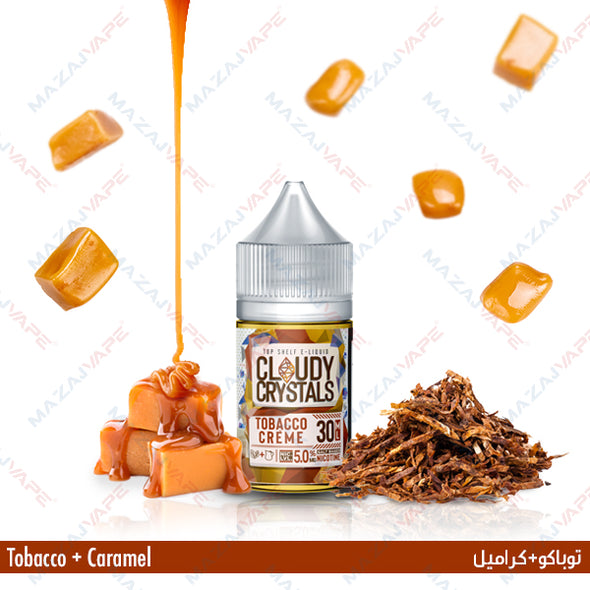 Cloudy Crystals - Tobacco Creme - vaporclub