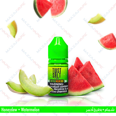 Melon Twist E-Liquids - Honeydew Melon Chew Salt - 1x30ML - vaporclub